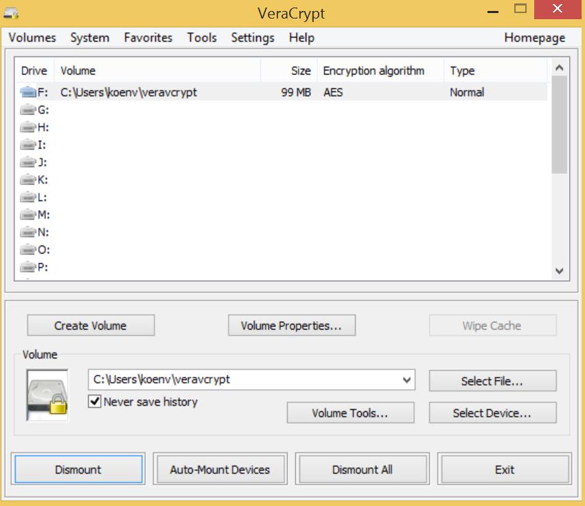TrueCrypt alternatives for Windows
