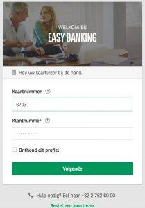 Easy Banking BNP Fortis