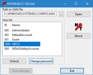 Recover administrator password of a Windows VM - Koen Van